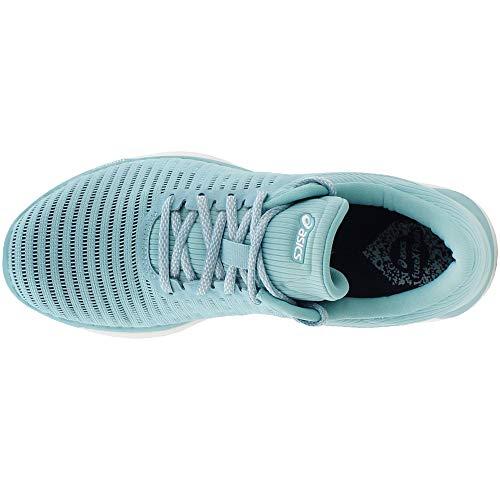 ASICS Blue Shoe Running White fuzeX Porcelain Women's Rush Smoke Blue Adapt Oaw0xanSrq