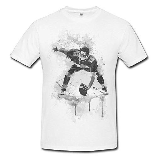 American Football II T-Shirt Herren, Men mit stylischen Motiv von Paul Sinus