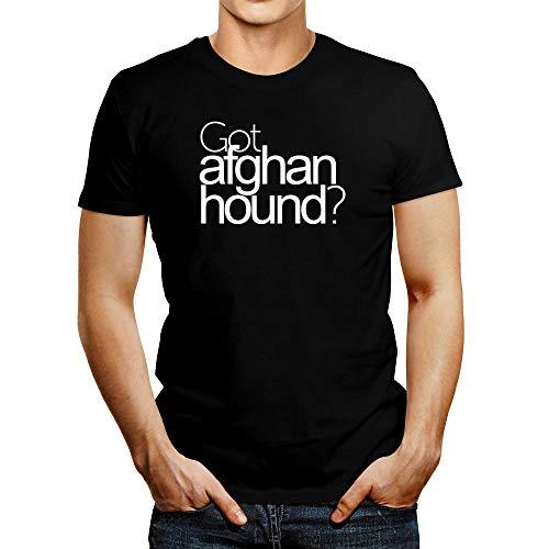 Idakoos Got Afghan Hound? Bold T-Shirt L Black