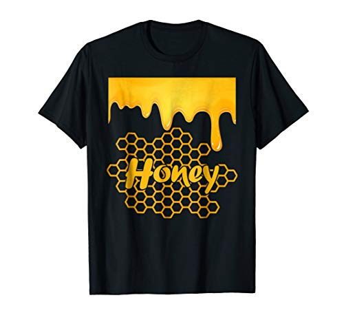 Honeypot Jar of Honey Costume Halloween Gift T-Shirt -