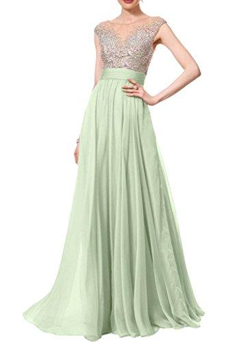 missdressy Vestido largo para mujer, gasa,verano, cuello redondo, plisado, noche, ropa de fiesta, boda, vestidos de invitados saga