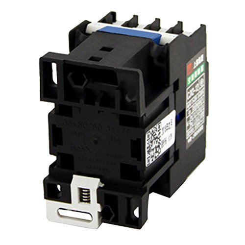 Dovewill CJX2-1210 380V AC Coil 3-Phase 1NO 50/60Hz Motor Starter Relay Contactor - 220V by Dovewill (Image #2)