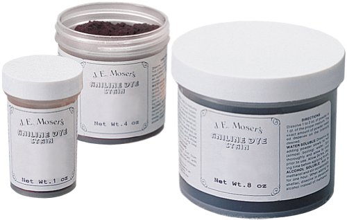 (J.E. Moser's 845352, Finishes, Wood Stains & Dyes, Water Soluble Pink Aniline Dye)
