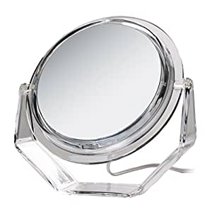 Zadro 5X Swivel Base Lighted Vanity Mirror