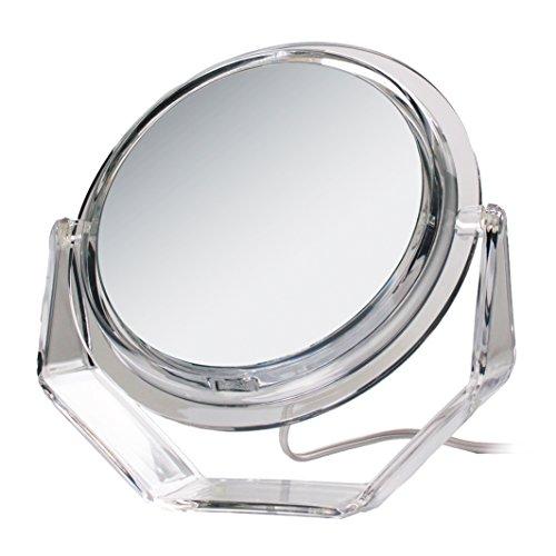 Zadro 5X Swivel Base Lighted Vanity Mirror