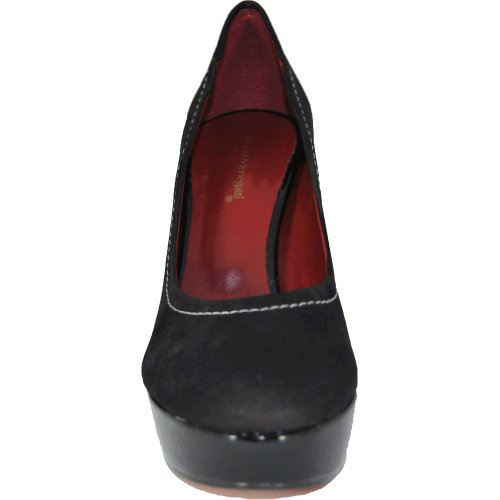 2010103 Menegatti Black Leather Bruno Womens Pump Menegatti Bruno Platform 8qXwt6E8Fx