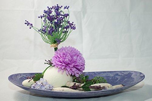 Schale In Lila Rosa Weiss Tischgesteck Tischdeko Mit Kunstlichen