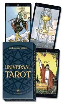 Fortune Telling Tarot Cards Universal Deck Professional Edition Made For Heavy Use Larger Cards by Raven Blackwood Imports (Image #1)