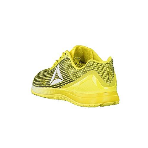 Reebok R Crossfit Nano 7.0, Zapatillas Deportivas para Interior para Mujer Amarillo (Bright Yellow/black/white/silver)