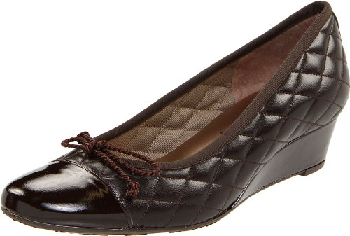 Ny Sole French Patent Deluxe Fs Women's Brown Calf Pump Brown wHwTqAE