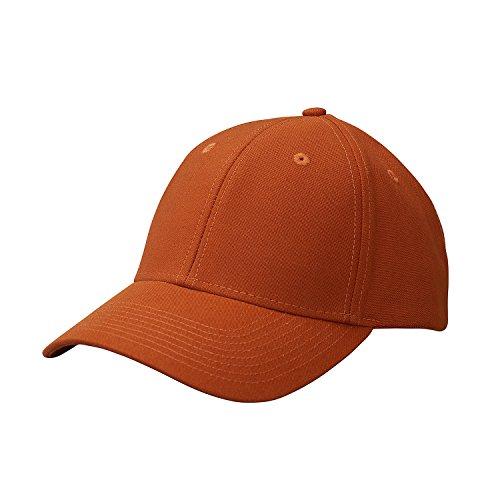 Ouray Sportswear Industrial Canvas Cap, Vintage Rust, Adjustable ()