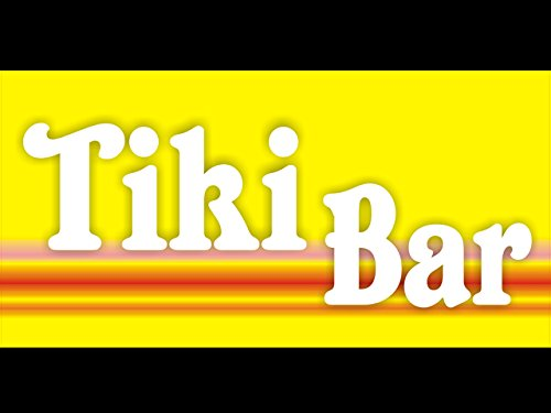 bn0530 Tiki Bar Pub Club Mobile Party Tropical Paradise Drink Open Banner (Paradise Tiki Bar)