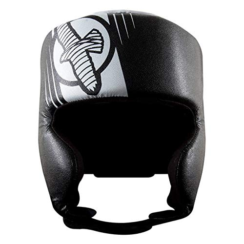 Hayabusa Fightwear Ikusa Recast Headgear - Black/White - One Size
