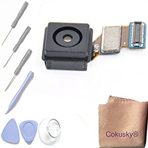 Cokusky Main Rear Back Camera Lens Flex Cable Repair for Samsung Galaxy S5 I9600 G900 G900f G900a G900v G900p (All Carriers)+Tools