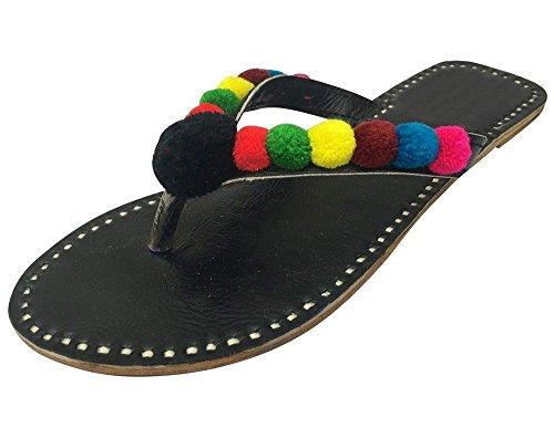 noir n femme Tongs Step pour Noir Style T0BwdqYS