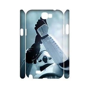 C-EUR Star Wars Warrior Customized Hard 3D Case For Samsung Galaxy Note 2 N7100