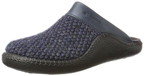 Damen kombi Romika Mokasso 130 Pantoffeln 501 Blau Blau a4Yq7dYx