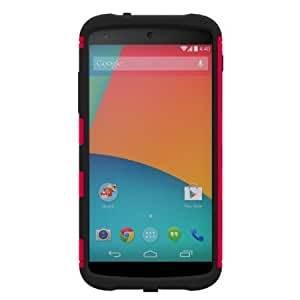 Cerhinu Trident Case Aegis Series Case for Google Nexus 5 - Retail Packaging - Red