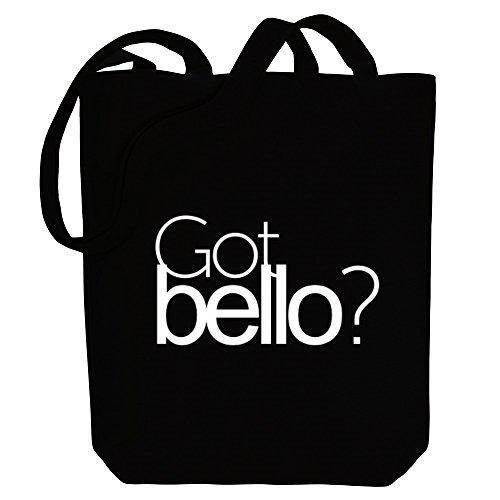 Idakoos Got Bello? - Männliche Namen - Bereich für Taschen