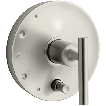 KOHLER K-T45112-4-BN Alteo Valve Trim with Push-Button