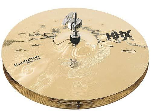 Sabian 14-Inch HHX Evolution Hi-Hat Brilliant Finish Cymbals