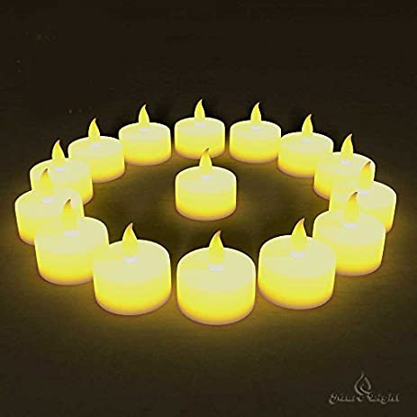 Amazon best flameless tea lights24 pack flameless candles best flameless tea lights24 pack flameless candles no dripsno mess fandeluxe Document