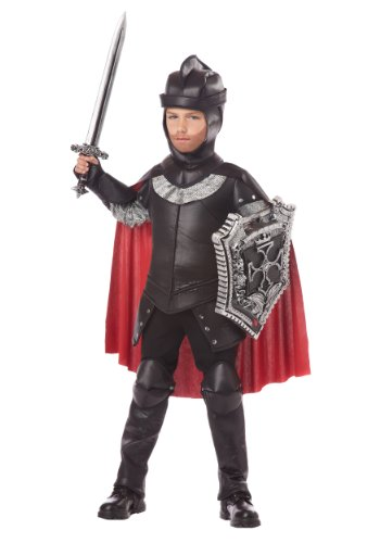 [California Costumes The Black Knight Child Costume, Small] (Tv Movie Childrens Costumes)