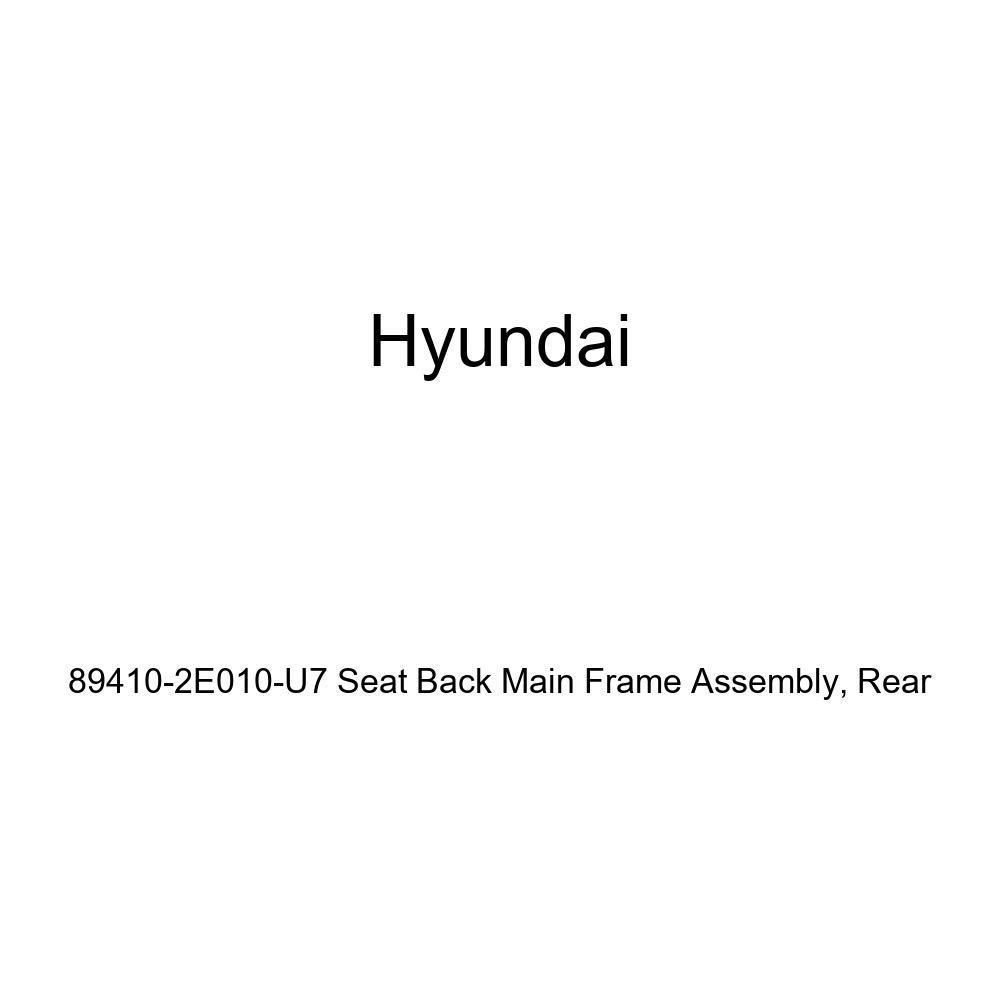 Genuine Hyundai 89410-2E010-U7 Seat Back Main Frame Assembly Rear