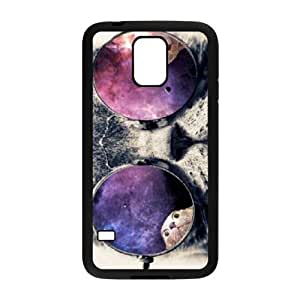 Galaxy Hipster Cat The Unique Printing Art Custom Phone Case for SamSung Galaxy S5 I9600,diy cover case ygtg550199