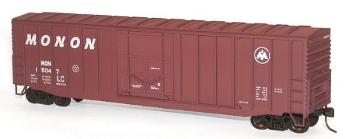 Accurail 56241 HO Scale kit 50 FT Exterior Post Modern Boxcars Monon
