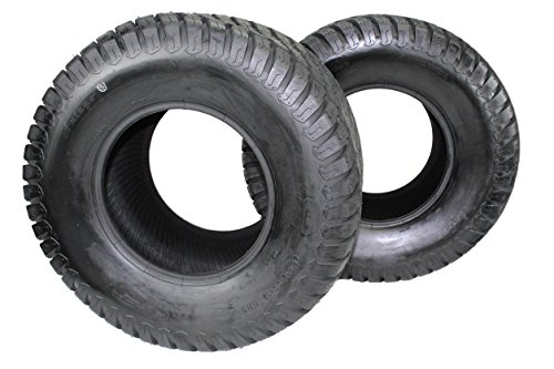Antego Set of Two New 26x12.00-12 4 Ply Turf Tires for Lawn & Garden Mower (2) -