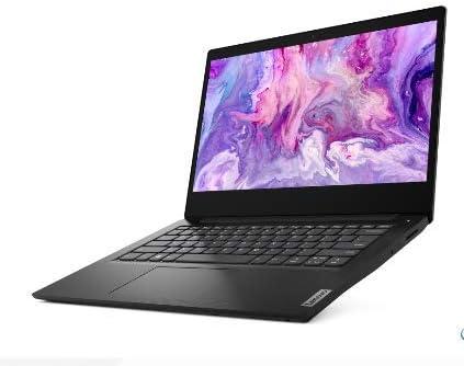 2020 Lenovo IdeaPad 3 14.0″ HD LED Non-Touchscreen Laptop PC, Intel Pentium Gold 6405U Dual Core Processor, 4GB DDR4 RAM, 128GB SSD, HDMI, Webcam, WiFi, Bluetooth 5, Windows 10 S, Black