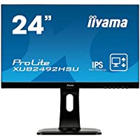 Iiyama Display monitor XUB2492HSU-B1 (23.8 inches / full HD / lifting stand) (Marvel Black)