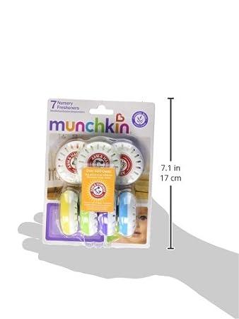 Amazon.com: Munchkin Arm & Hammer Nursery Fresheners - 7 Pk: Health & Personal Care