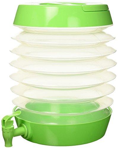 Beverage Pocket - Zees Inc Pocket Bottles Tg3202 Collapsible Beverage Dispenser, Lime