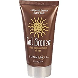 Bonne Bell Gel Bronze Coppered Bronze Extra Dark , 1.1 Fl Oz, (417)