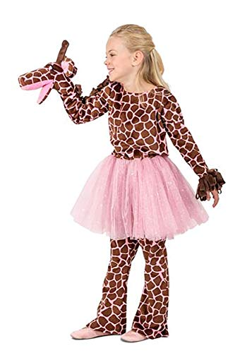 Girls Puppet Giraffe Costume -