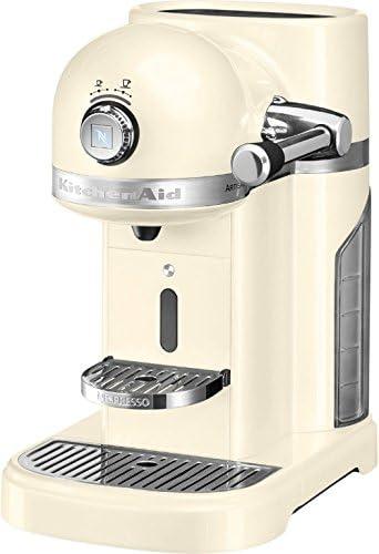 KitchenAid 5KES0503 Independiente Semi-automática Máquina de café en cápsulas 1.4L Crema de color - Cafetera (Independiente, Máquina de café en cápsulas, 1,4 L, Cápsula de café, 1160 W, Crema de color): Amazon.es: