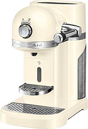 KitchenAid Artisan Nespresso Independiente Semi-automática Máquina espresso 1.4L Crema de color - Cafetera