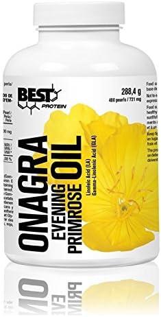 Best Protein Aceite de Onagra, 400 Cápsulas, 288.4 g: Amazon.es: Salud y cuidado personal
