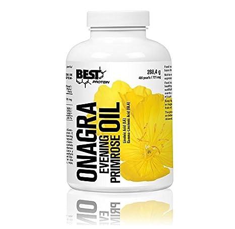 Best Protein Aceite de Onagra, 400 Cápsulas, 288.4 g