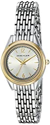 Anne Klein Women's AK/2271SVVTT Two-Tone Bracelet Watch