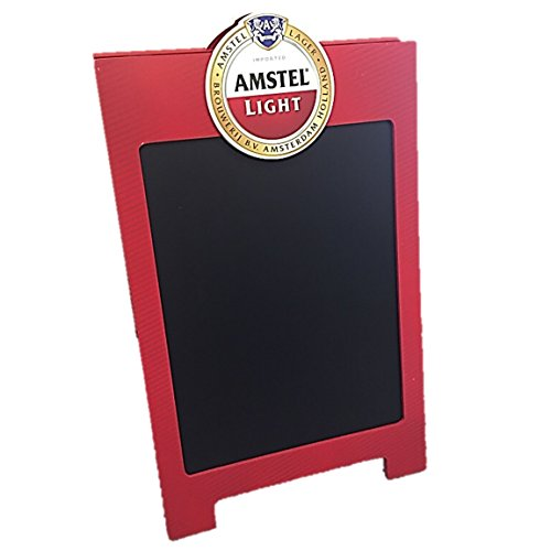 amstel-light-red-beer-double-sided-chalkboard-advertising-sandwich-a-frame-board