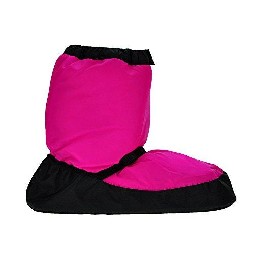 Fluorescente Rosa para Bloch Botas calentamiento Childs niños de w1SwBnqa