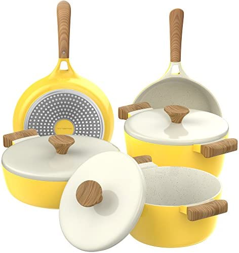 Vremi Piece Ceramic Nonstick Cookware product image