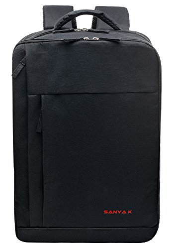 Backpack-SANYA-K-Business-Students-School-Shoulder-Backpack-Luggage-Travel-Bag-Hiking-Bag-Orthopedic-Support-Durable-Nylon-Fabric-Fits-Up-to-17-Inch-Laptop-MacBook-Computer