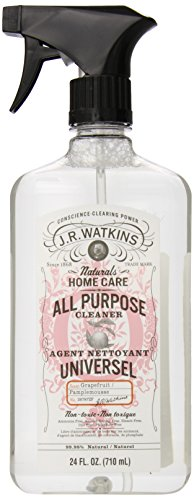 J.R. Watkins All Purpose Cleaner, Grapefruit, 24 ounce (Pack of 6)