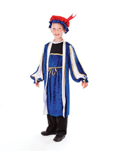 128cm Boys Tudor Costume With Hat for sale  Delivered anywhere in USA