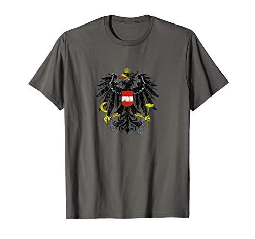 Austrian Flag Austria Coat of Arms Vienna Eagle T Shirt