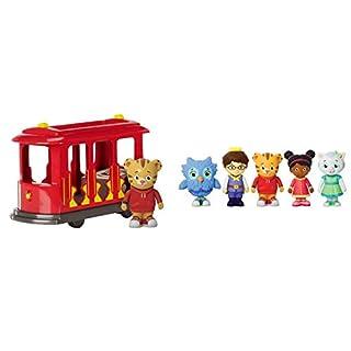 Daniel Tiger's Neighborhood Trolley with Daniel Tiger Figure & Friends Figures Set